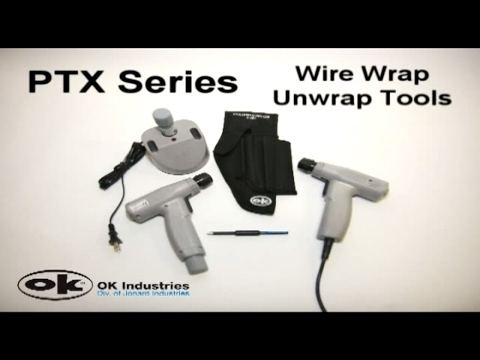 Jonard Tools PTX Battery & Electric Wire Wrap/Unwrap Tools
