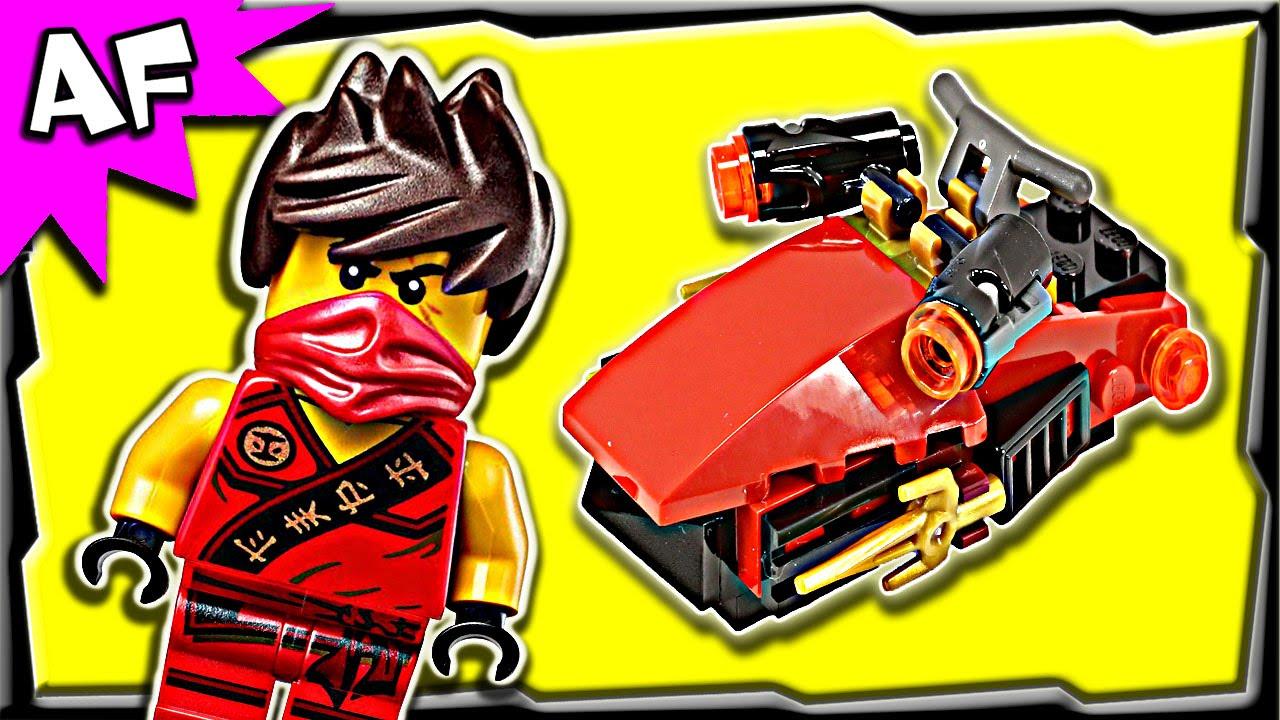 Lego Ninjago Kai S Drifter 30293 Stop Motion Build Review