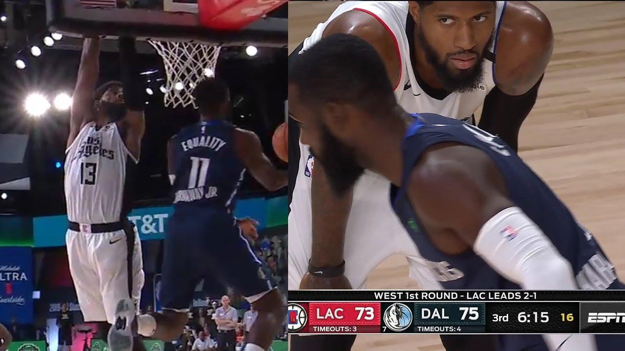 Tim Hardaway with Dr. J move vs. Paul George   Clippers vs Mavericks Game 4