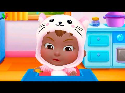 Крошка МАЛЫШКА как БОСС Играем и Одеваемся Игра Для Детей