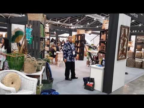 Kota Tasikmalaya ikut berpartisifasi dalam pameran  International Furniture 2018 di Singapura.