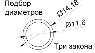 видео Какой диаметр трубы выбрать