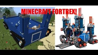 LEGO Nexo Knights Fortrex in Minecraft!