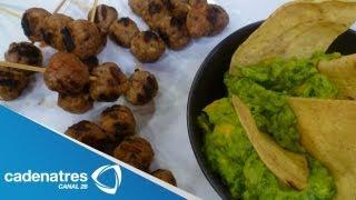 Receta Para Preparar Albóndigas Con Chipotle. Receta De Albóndigas / Receta Guacamole Mango