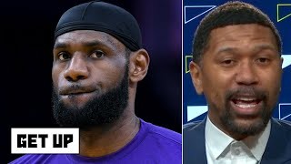 This Season Is Lebron's Best Chance For A Title With The Lakers - Jalen Rose | Get Up