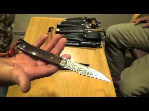 Showcase Of Japanese Custom Hunting Knives