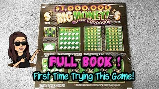 FULL BOOK of $1,000,000 Big Money from The Texas Lottery | $500 in Lottery Tickets