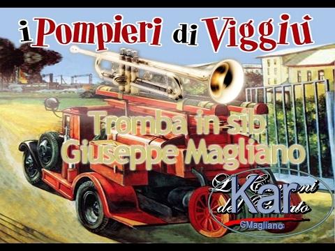 I pompieri di Viggiù karaoke Tromba in sib Giuseppe Magliano