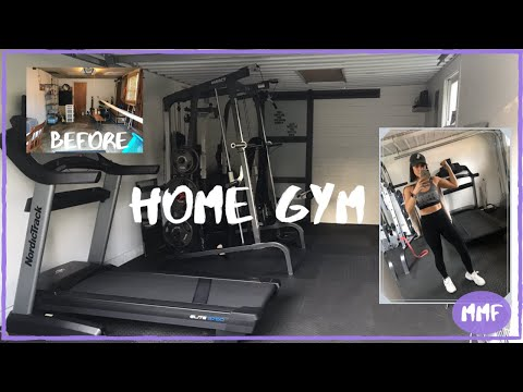 MY HOME GYM | EVERYTHING YOU NEED FOR A HOME GYM | MARCY 9010 SMITH MACHINE