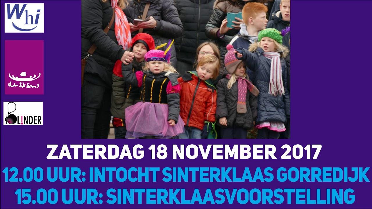 Intocht Sinterklaas Gorredijk 2017 Youtube