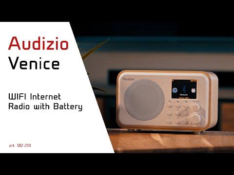 Venice WIFI Internet Radio with Battery