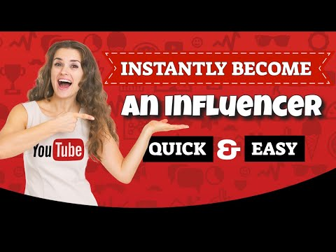How To Be An Influencer and Make Money - NEW Platform!