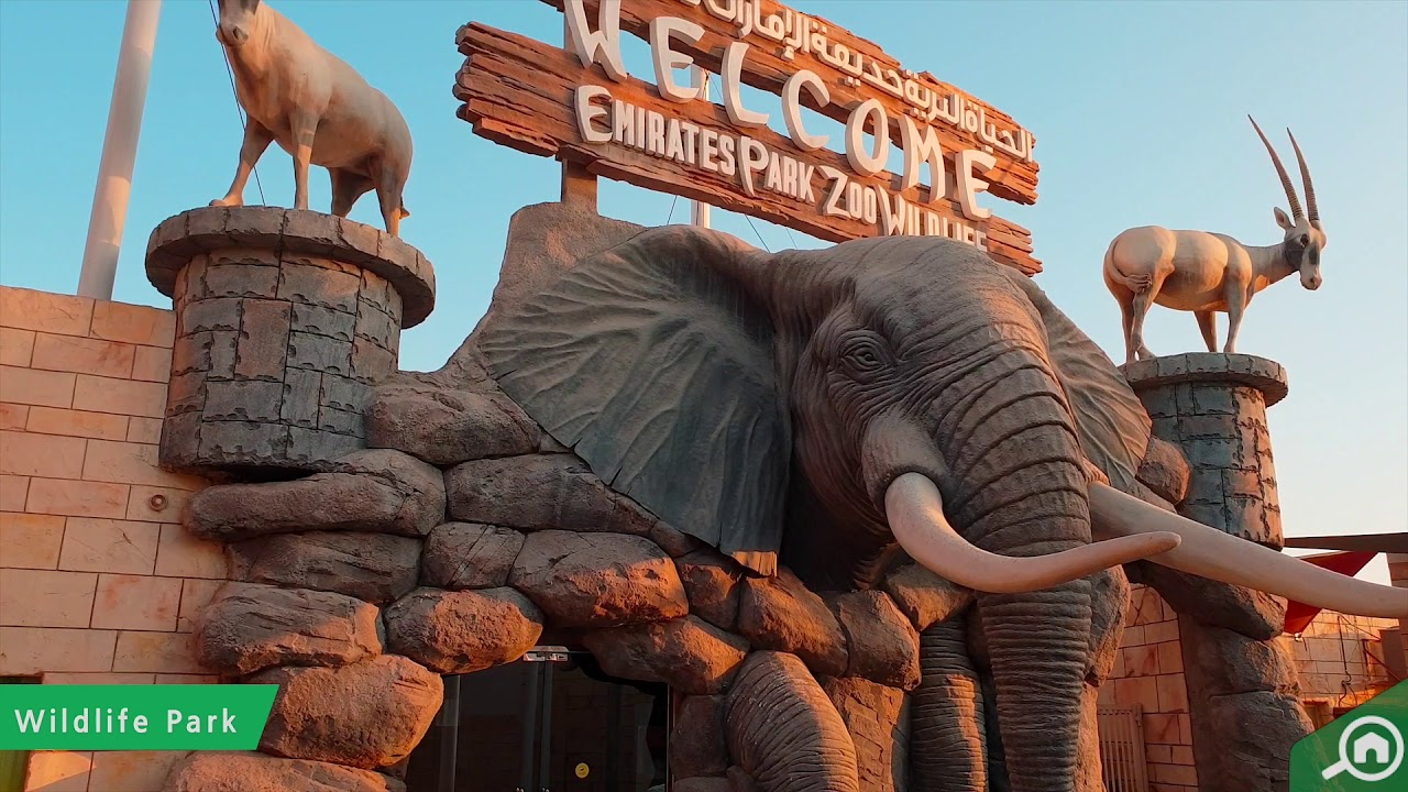 حديقة الامارات للحيوانات الموقع أوقات العمل أسعار التذاكر