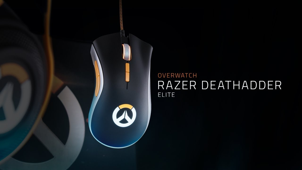 Overwatch Razer DeathAdder Elite