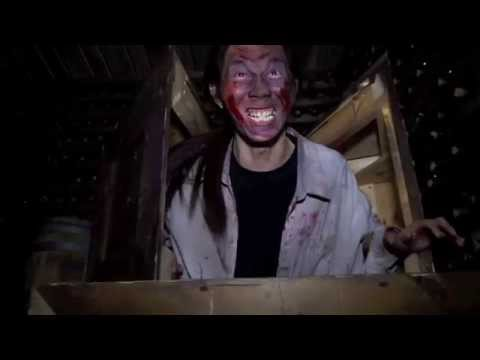Playland's Scared by the Sound Haunted House footage from 2013.
