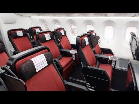 Japan Airlines 787-9 Premium Economy Boston to Tokyo JL7 (flight review #41)