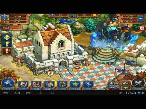 The Tribez & Castlez - Android And IOS Gameplay