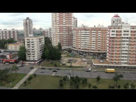 Мичуринский пр-т. Москва. ЗАО р-н Раменки