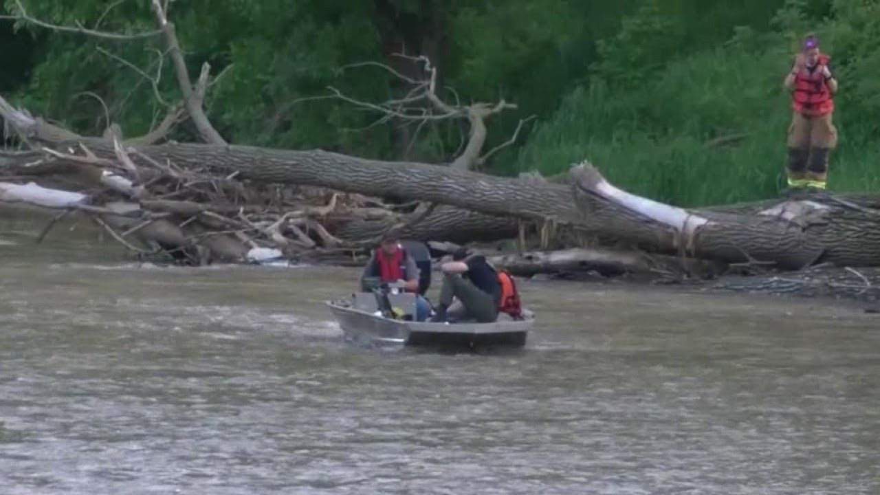 Authorities searching for 4-year-old child swept away in flood - The ...