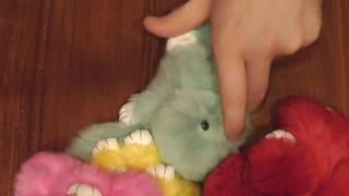 Обзор мехового кролика (брелок)