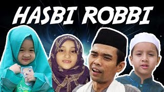 MEDLEY HASBI ROBBI LIRIK | AISHWA x ALIYAH HUSEIN x UAS x MUHAMMAD HADI