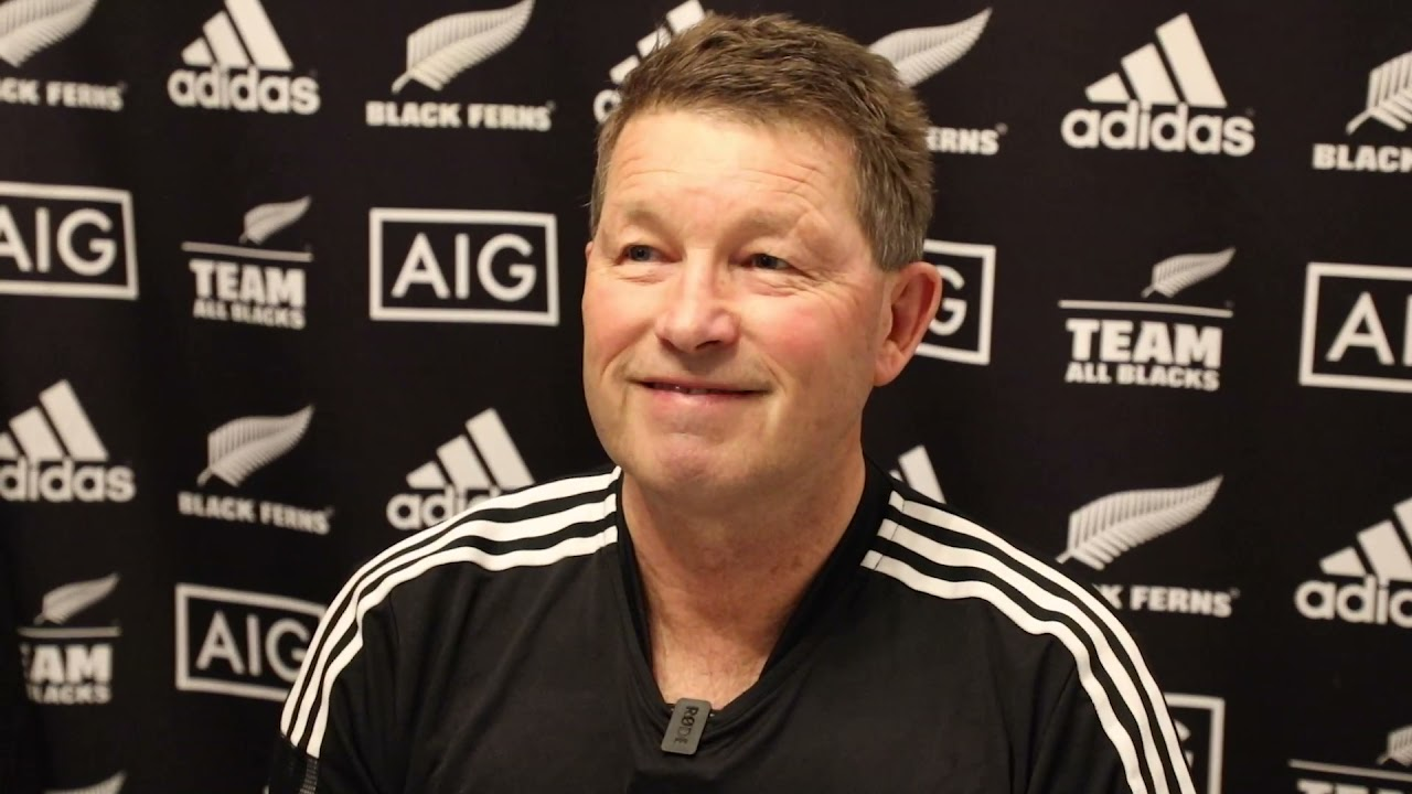 Black Ferns assistant coach John Haggart Press Conference (Exeter)
