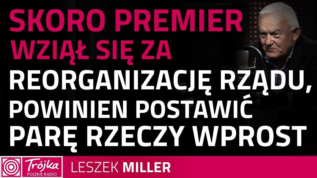 Leszek Miller o zwrocie ministerialnych nagród: dostrzegam w tym populizm