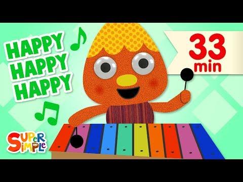 My Happy Song | + More Kids Songs | Super Simple Songs