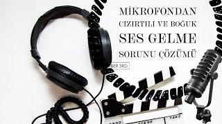 MİKROFONDAN GELEN CIZIRTILI VE BOĞUK SESİ ENGELLEME AYARLARI (VOİCEMEETER) #mikrofon #cızırtılı ses