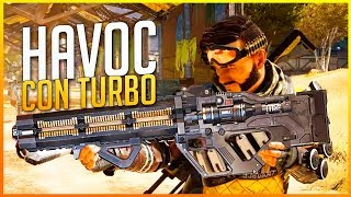APEX LEGENDS: ¡DAÑO MASIVO CON HAVOC CON TURBOCARGADOR! | Makina