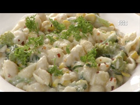 Sea Shell Pasta With Broccoli - Mummy Ka Magic
