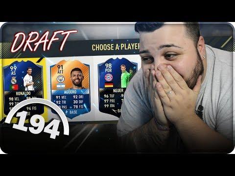 DA BRIVIDO !!! 194 FUT DRAFT CHALLENGE [FIFA 17]