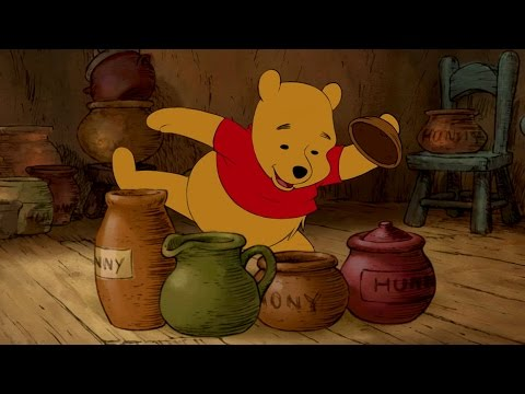 Pooh's Tummy | The Mini Adventures of Winnie The Pooh | Disney