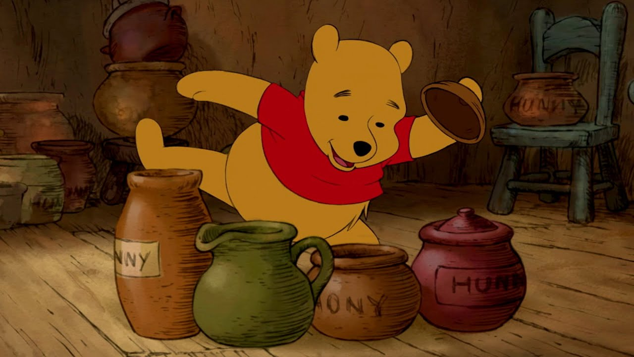 Pooh S Tummy The Mini Adventures Of Winnie The Pooh