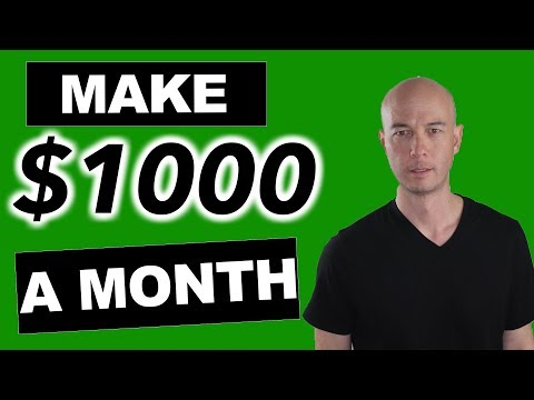 Create Amazon Affiliate Niche or Authority Websites That Make $1,000/Mon (passive income)