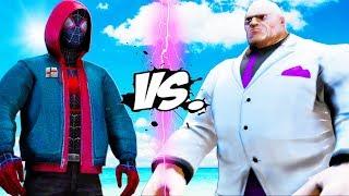 ULTIMATE SPIDER-MAN (Miles Morales) vs BIG KINGPIN - Into The Spider-Verse