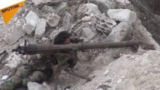 بالفيديو...هكذا اصطاد مقاتل في الدفاع الوطني السوري فريسته في ريف اللاذقية