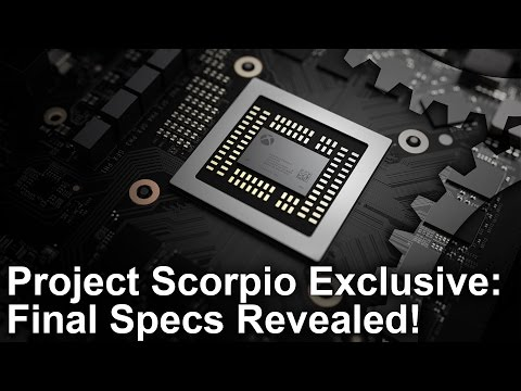 Xbox One X/ Project Scorpio Exclusive: Final Specs Revealed!