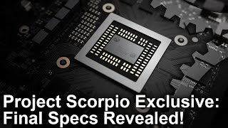 Xbox One X/ Project Scorpio Exclusive: Final Specs Revealed! thumbnail