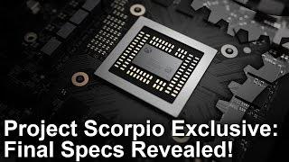 Xbox One X/ Project Scorpio Exclusive: Final Specs Revealed!