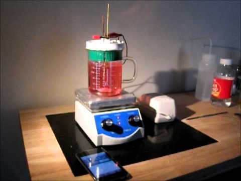 Making Colloidal Gold by Low Voltage Electrolysis