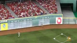 MLB 2K9 PC Gameplay SF@CIN (Giants vs Reds) 1 Inning Top