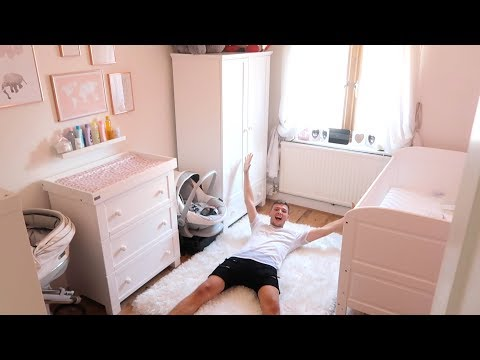 OUR BABYS ROOM TOUR!!! || Casey Barker Vlogs