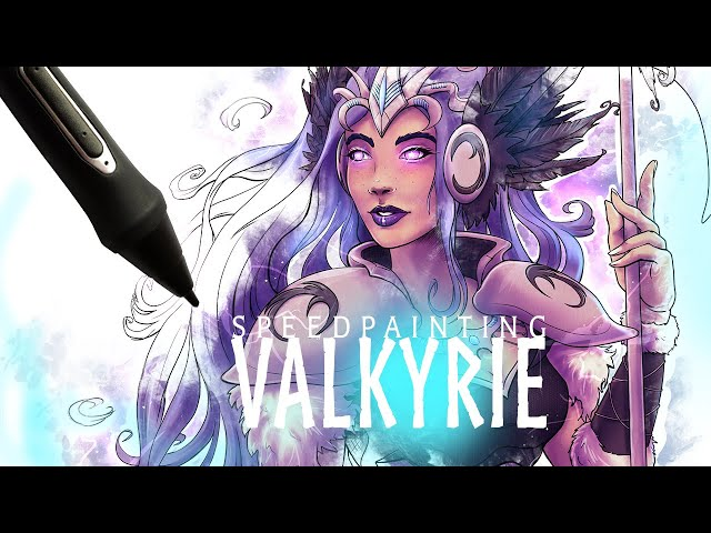 VALKYRIE - Artwork Redraw Timelapse (Speed Drawing / Painting) in Clip Studio Paint