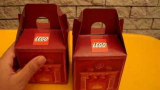 Unboxing LEGO Holiday Pick A Brick Boxes