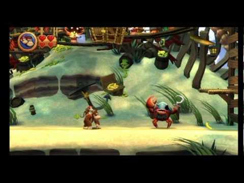 Donkey Kong Country Returns Walkthrough Part 7 - Pinchin' Pirates | GamersCast