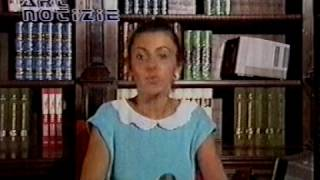 TV-DX ART E65 local Channel Italy 13.08.1985