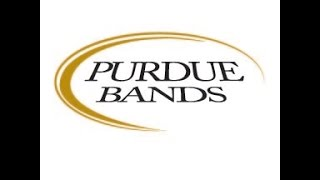 "Purdue ""All-American"" Marching Band Game Show Halftime Sept. 20, 2014"