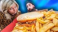 EATING BRITAIN'S BIGGEST TAKEAWAY BURGER | B.S.B.O. Ep.10