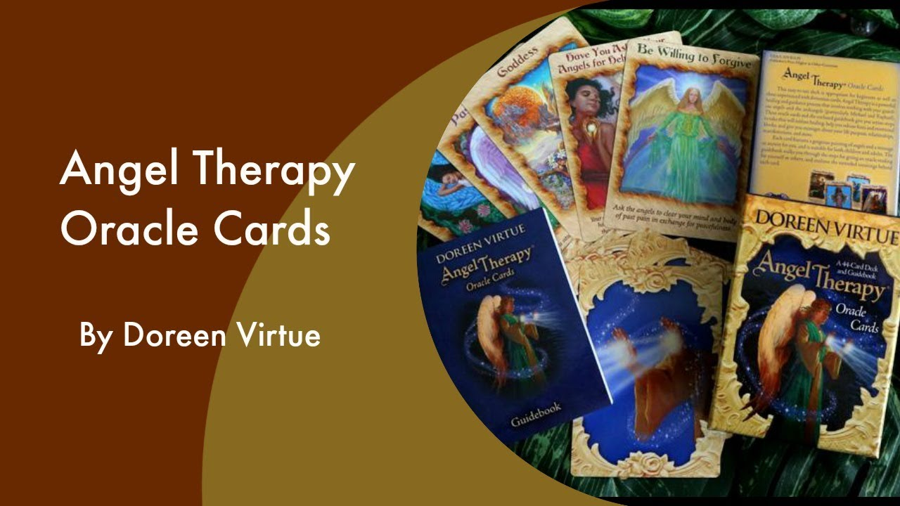 TAKING A LOOK AT 'ANGEL THERAPY' ORACLE CARDS | Purely Therapeutic